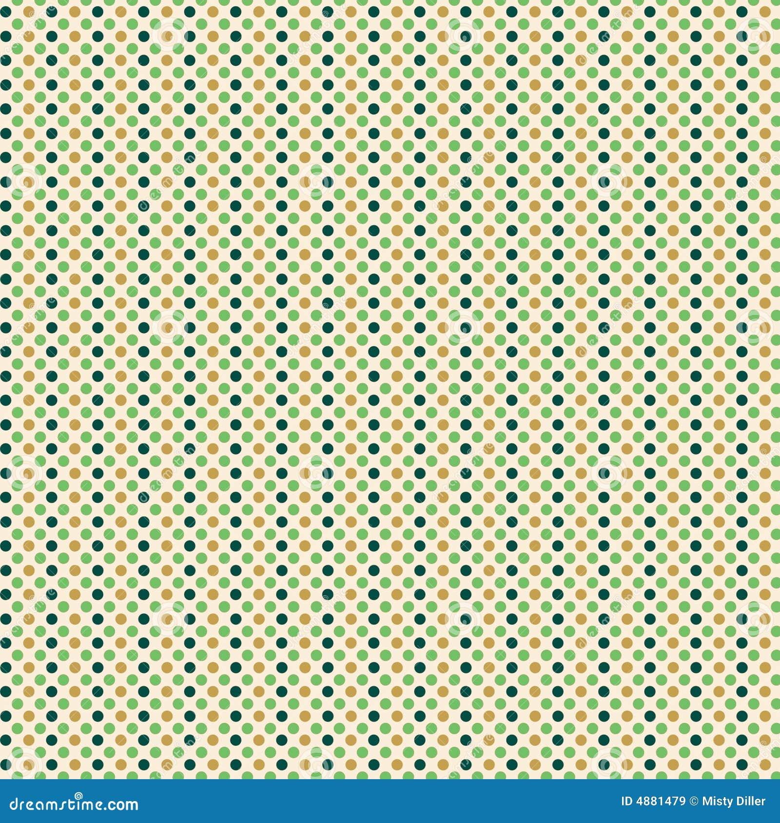 Retro Polka Dot Design