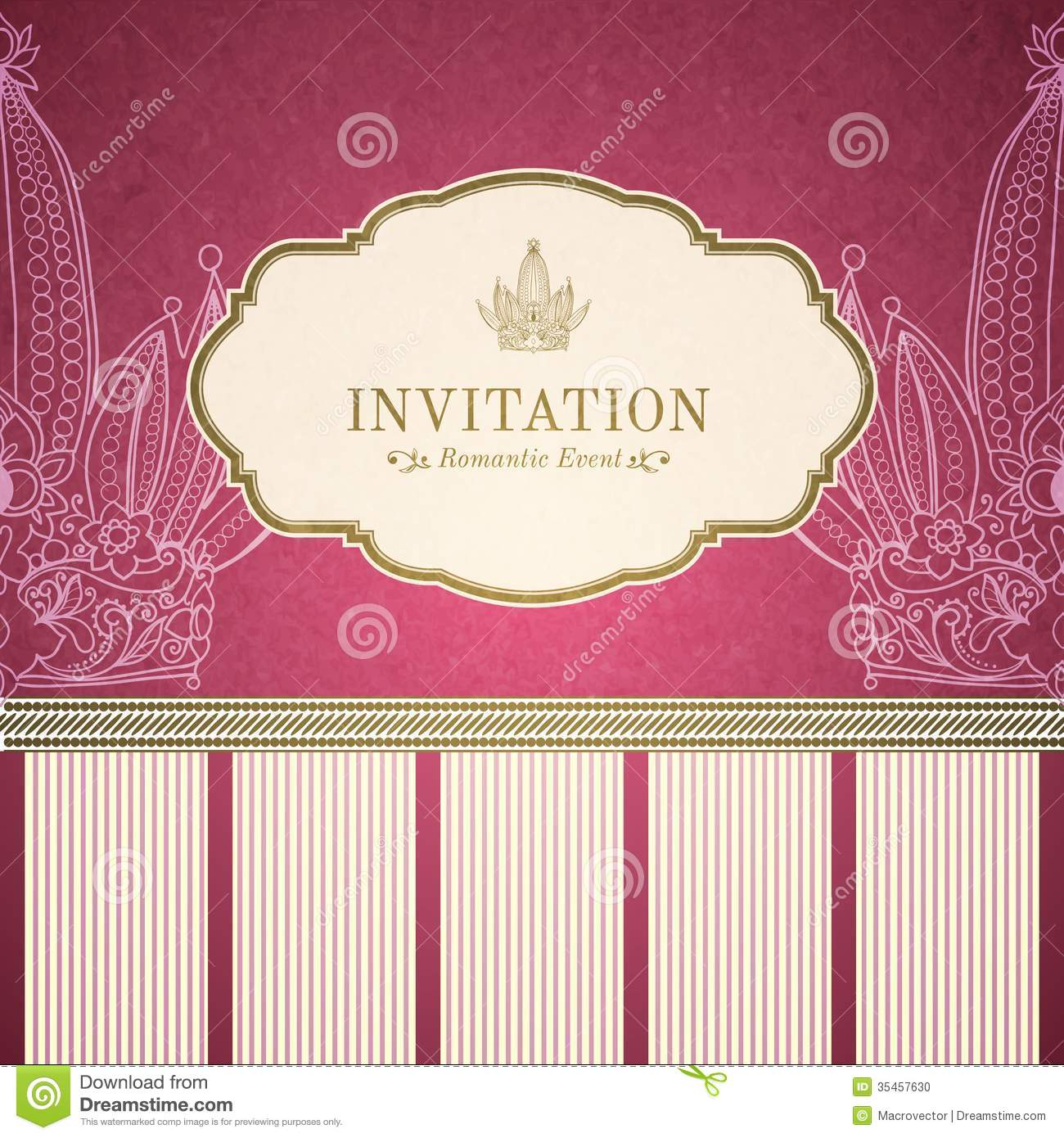 princess invitation template disney princess invitations retro princess invitation template stock photo image 35457630