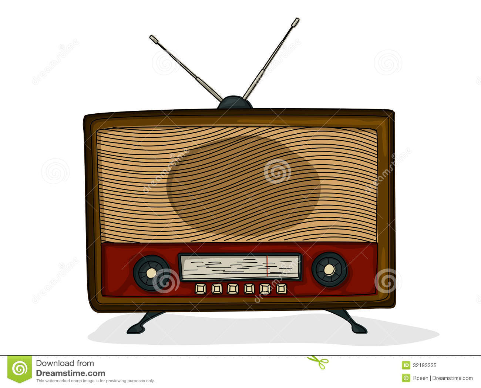 Retro Radio Royalty Free Stock Photo Image 32193335