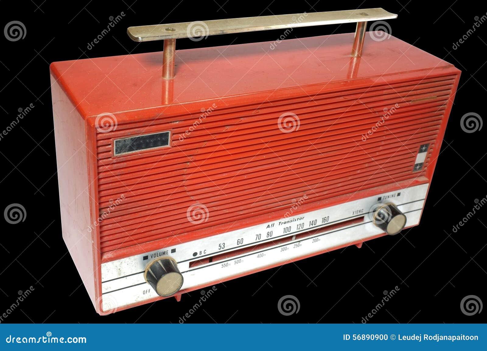Retro radioricevitore del secolo scorso