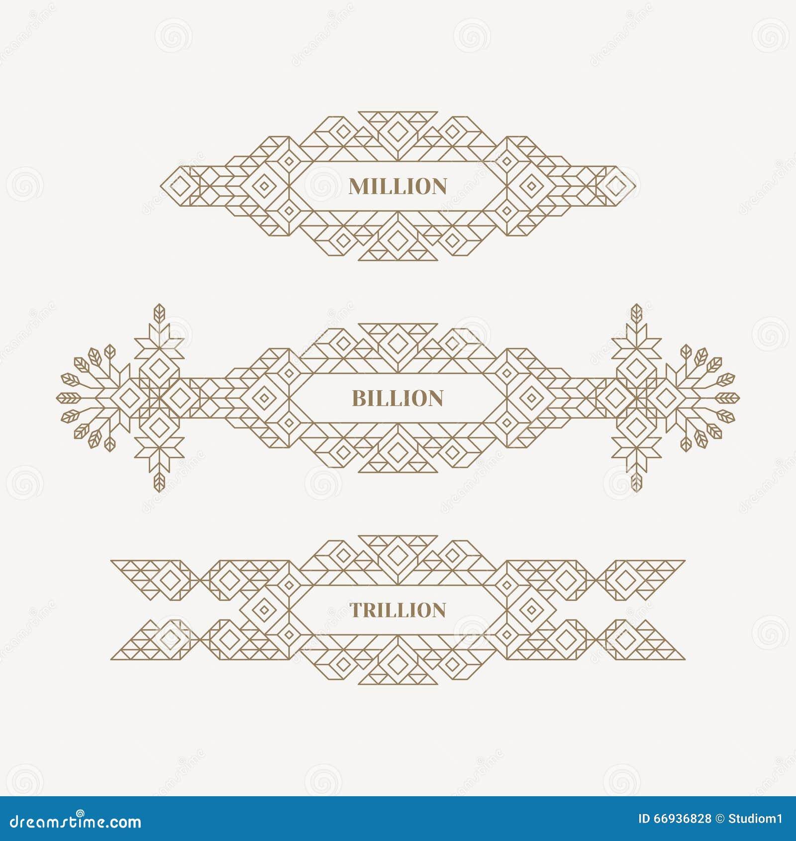 Retro- Rahmen mit Platz für Text Weinlese-Dekorations-Element Illustration für Vermarktenund Geschäfts-Darstellung Linie Kunstdes