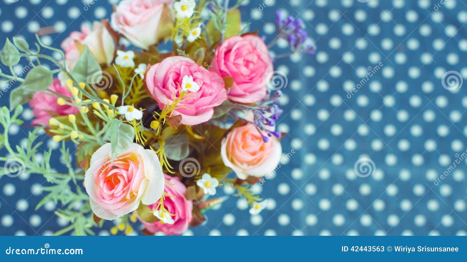 Retro - ramo del vintage de flores coloridas