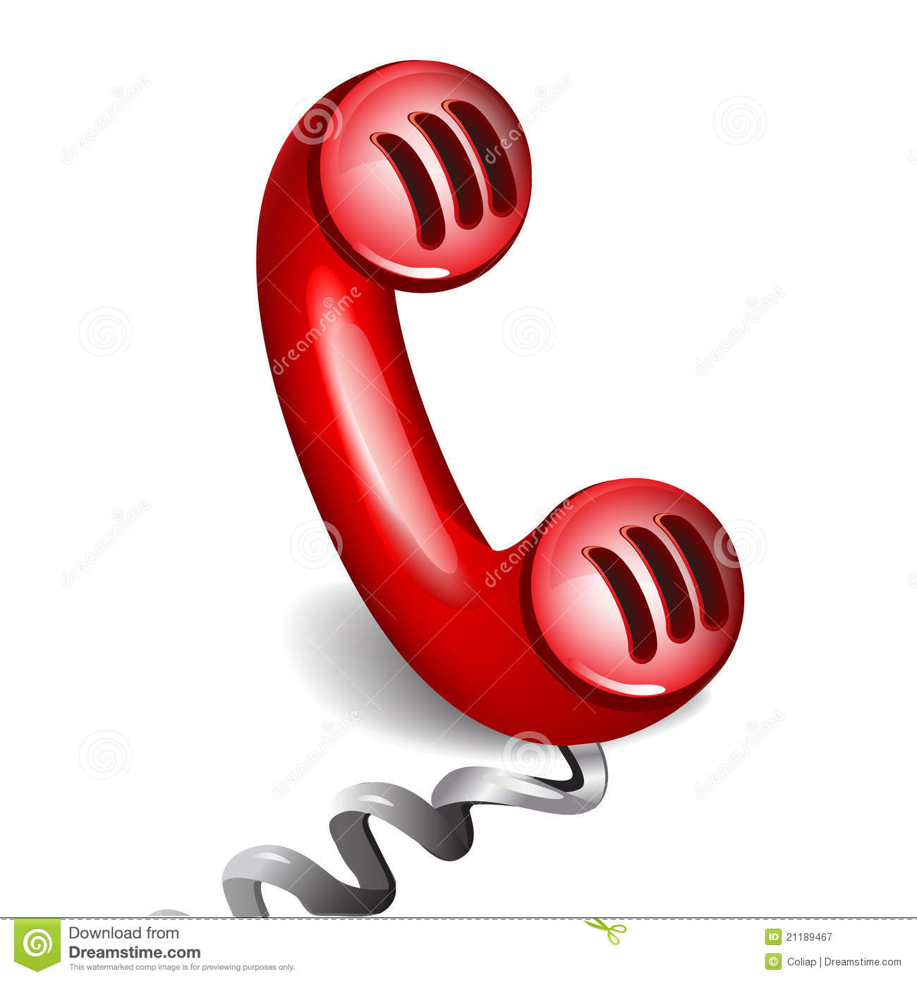 Retro red phone stock vector. Illustration of illustration ...