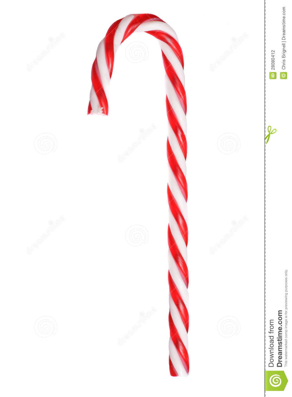 Kitchen utensils clip art pan - Retro Red And White Christmas Candy Cane Stock Photography