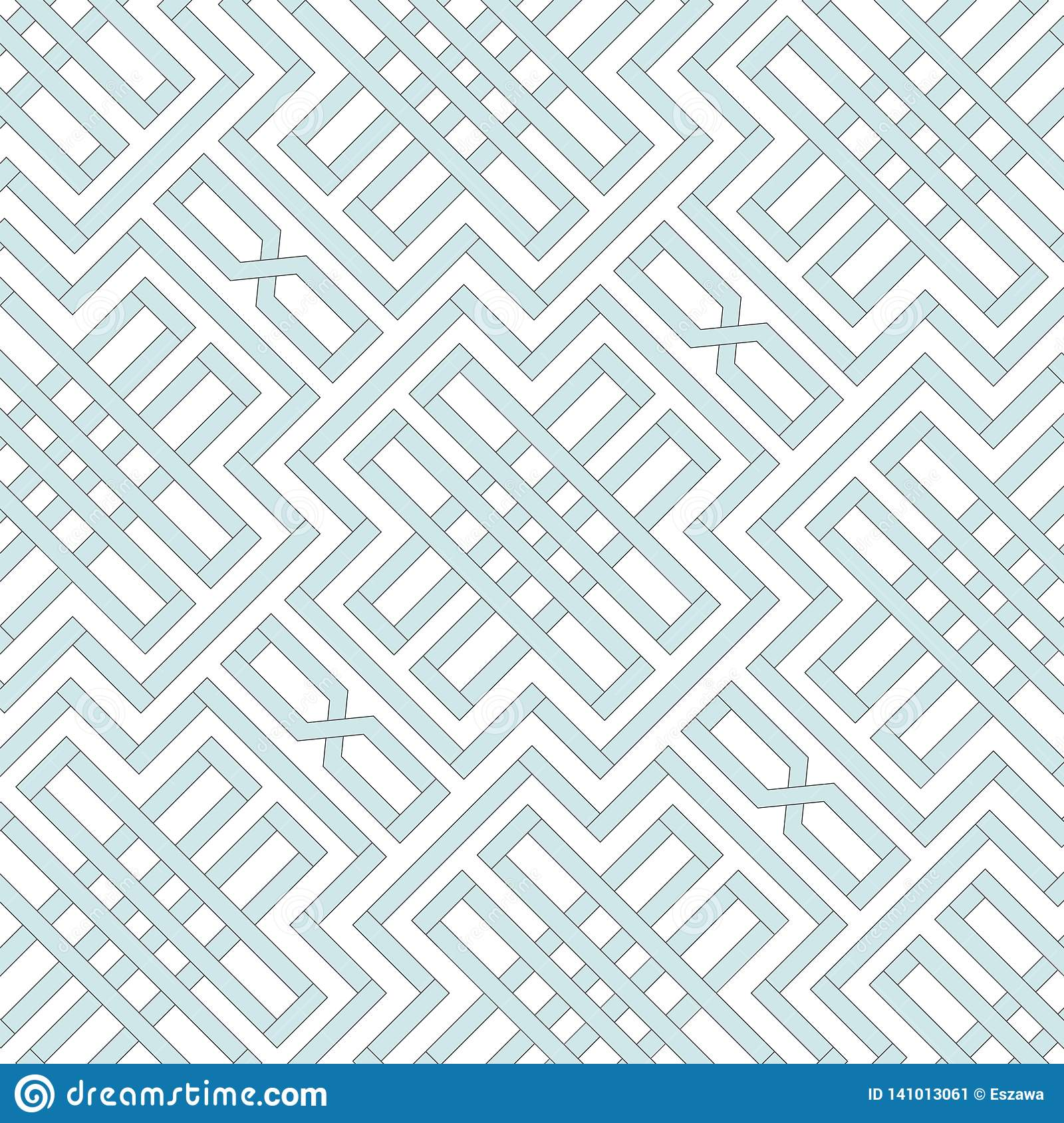 Retro repetitive wallpaper - Vintage vector pattern
