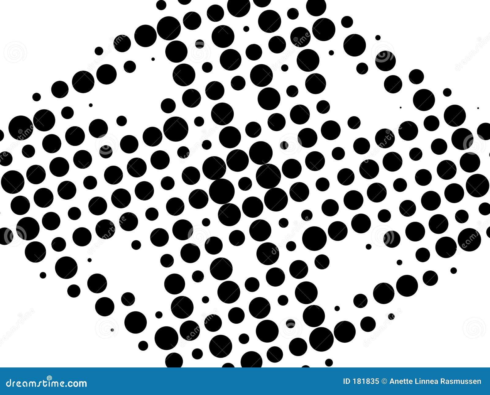 Retro reticolo in bianco e nero
