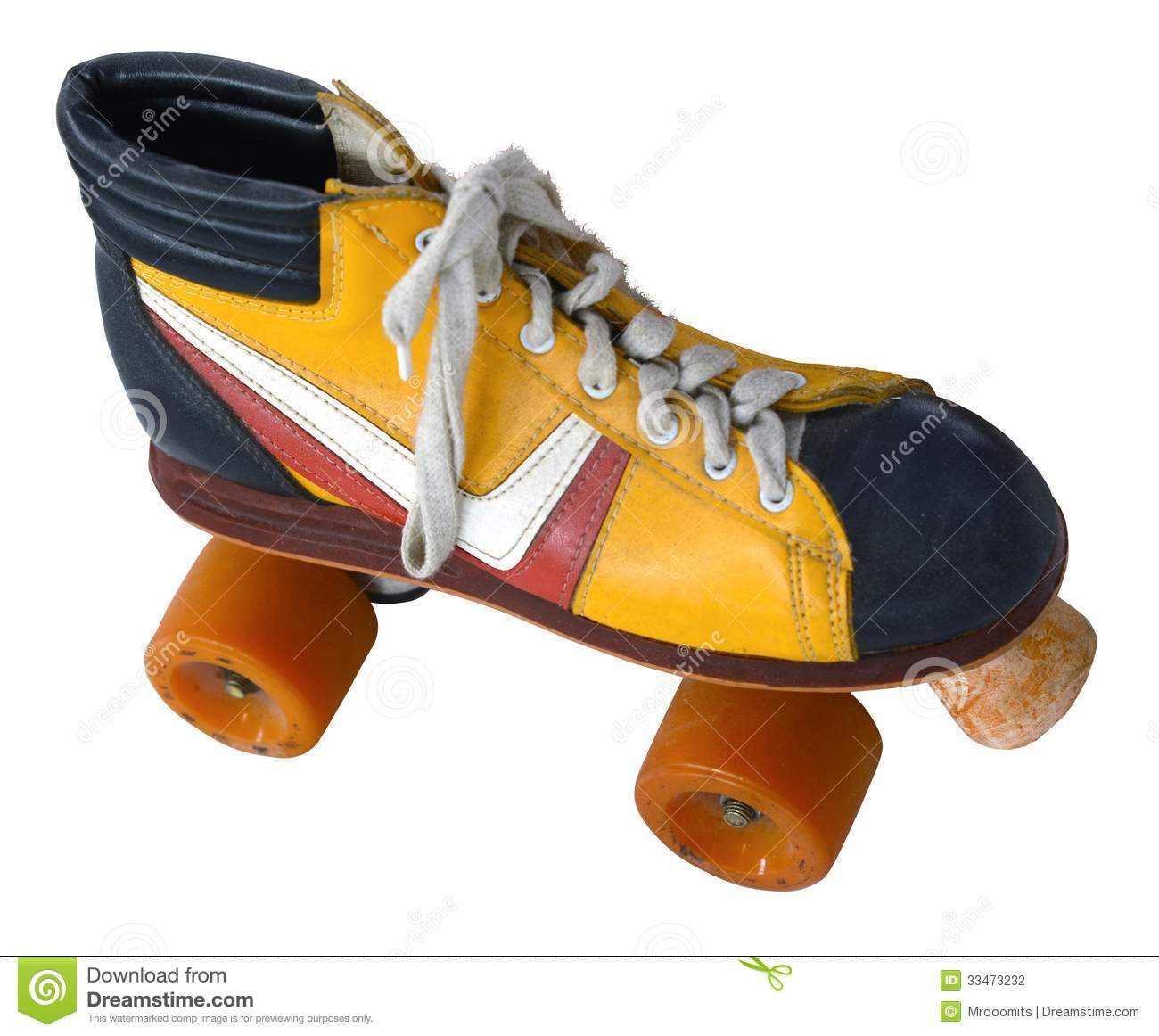 Retro Roller Skate Stock Photography Image 33473232