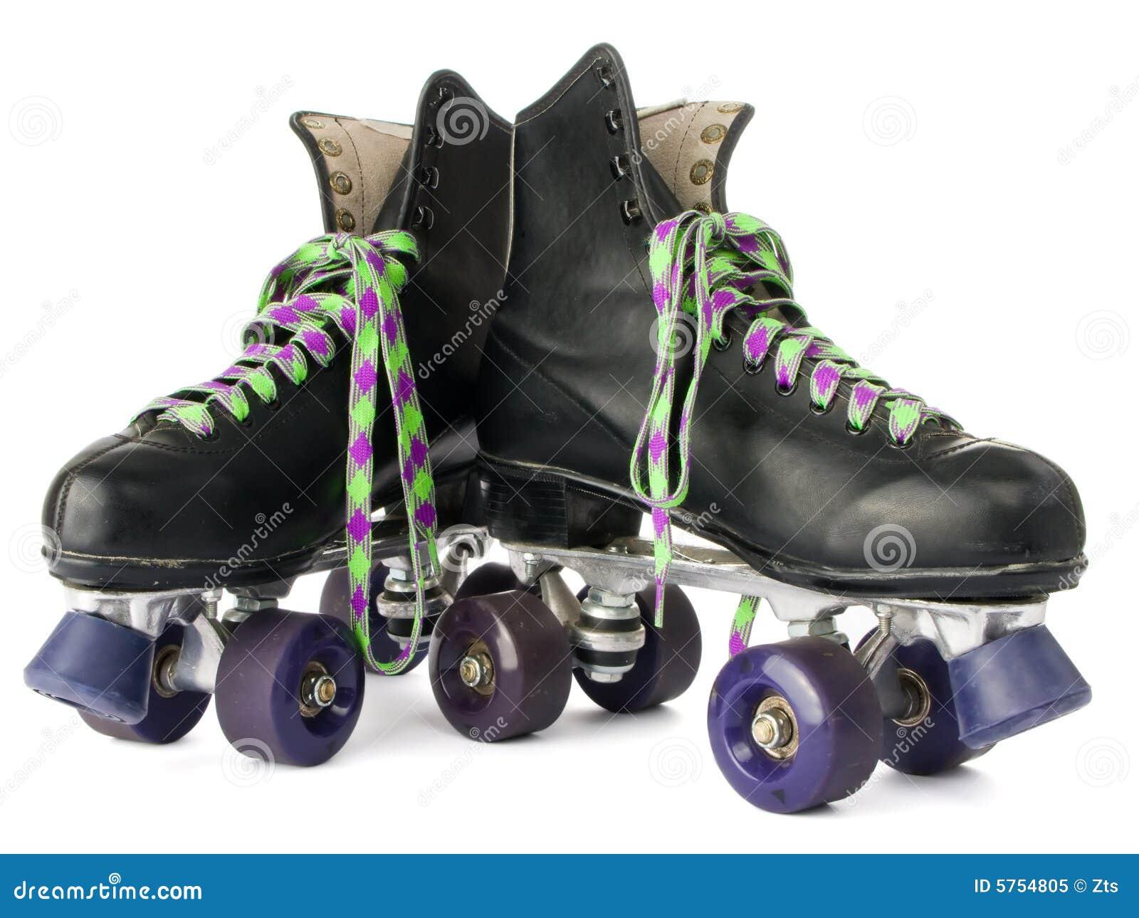 Roller skates for free - Retro Roller Skates Royalty Free Stock Photo