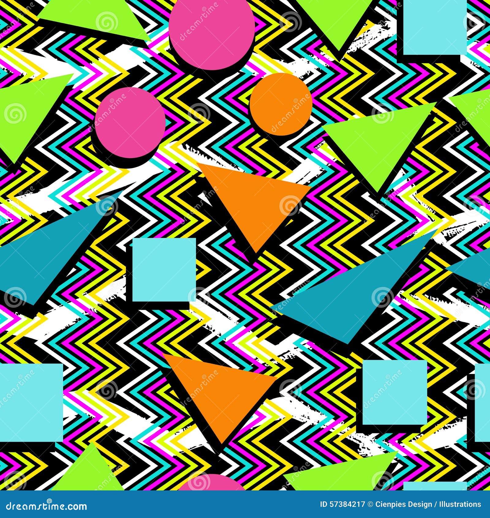 80s Pattern Cool Design Inspiration