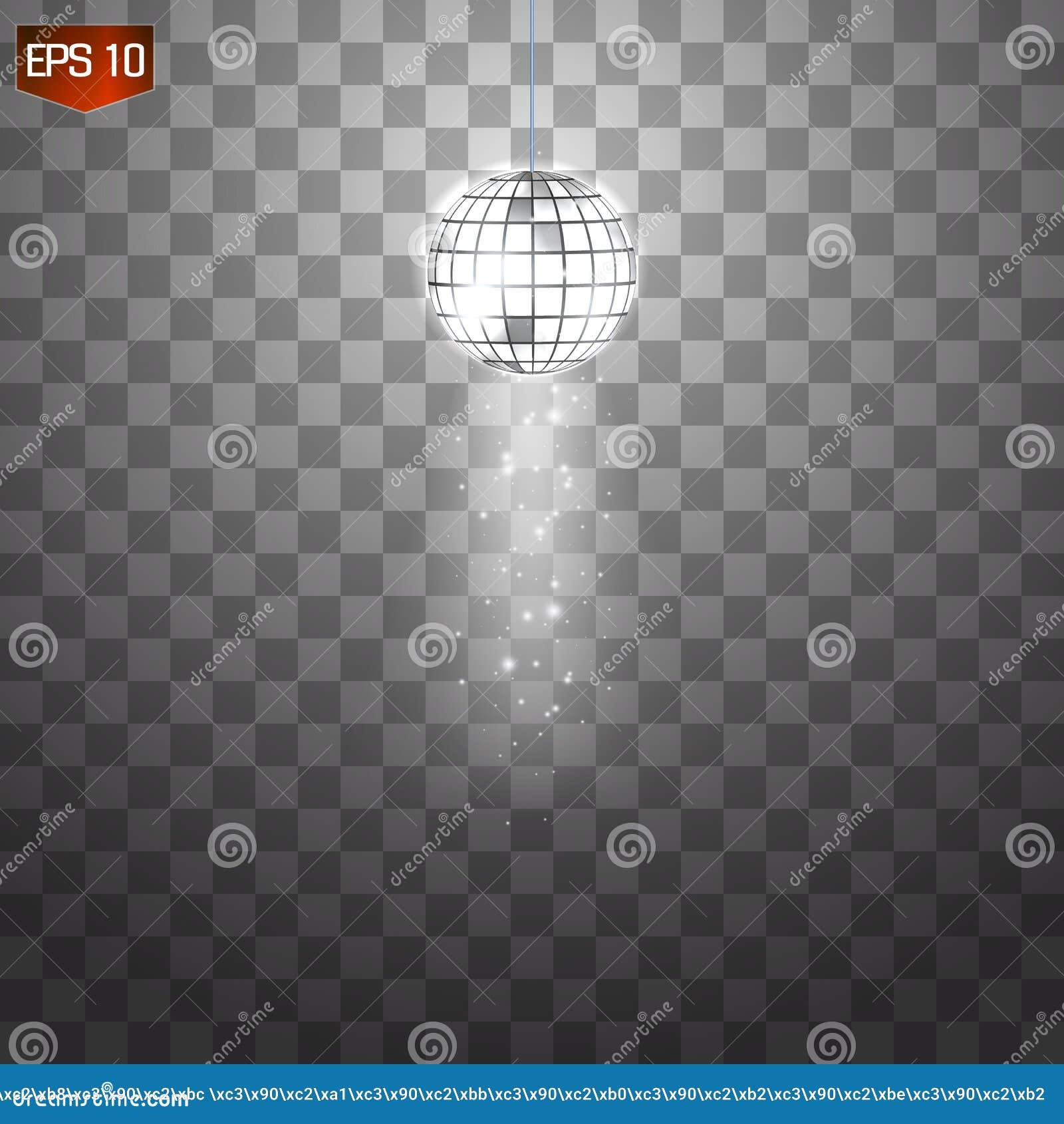 Retro silver disco ball vector, shining club symbol of having fun, dancing, dj mixing, nostalgic party, entertainment.