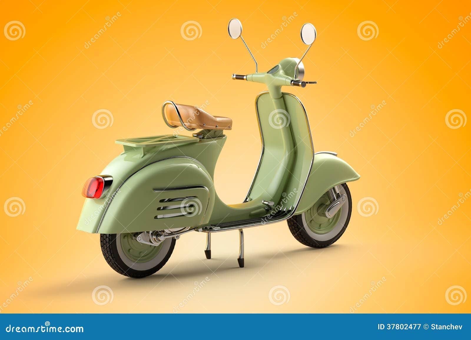 Retro sparkcykel