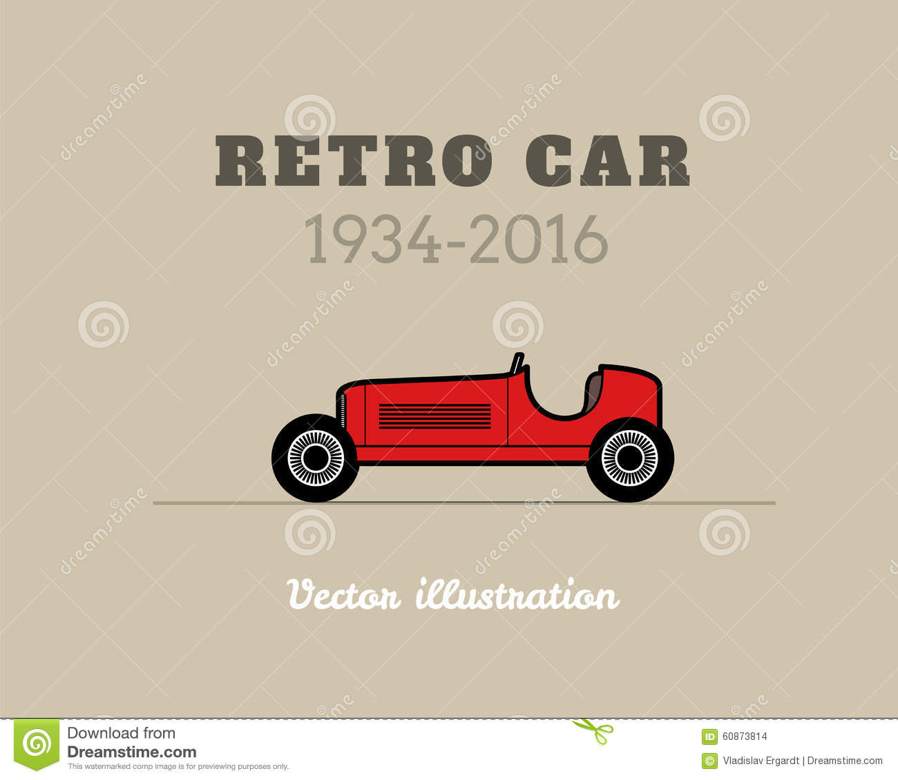 vintage sport racing car royalty free cartoon 84898415. Black Bedroom Furniture Sets. Home Design Ideas