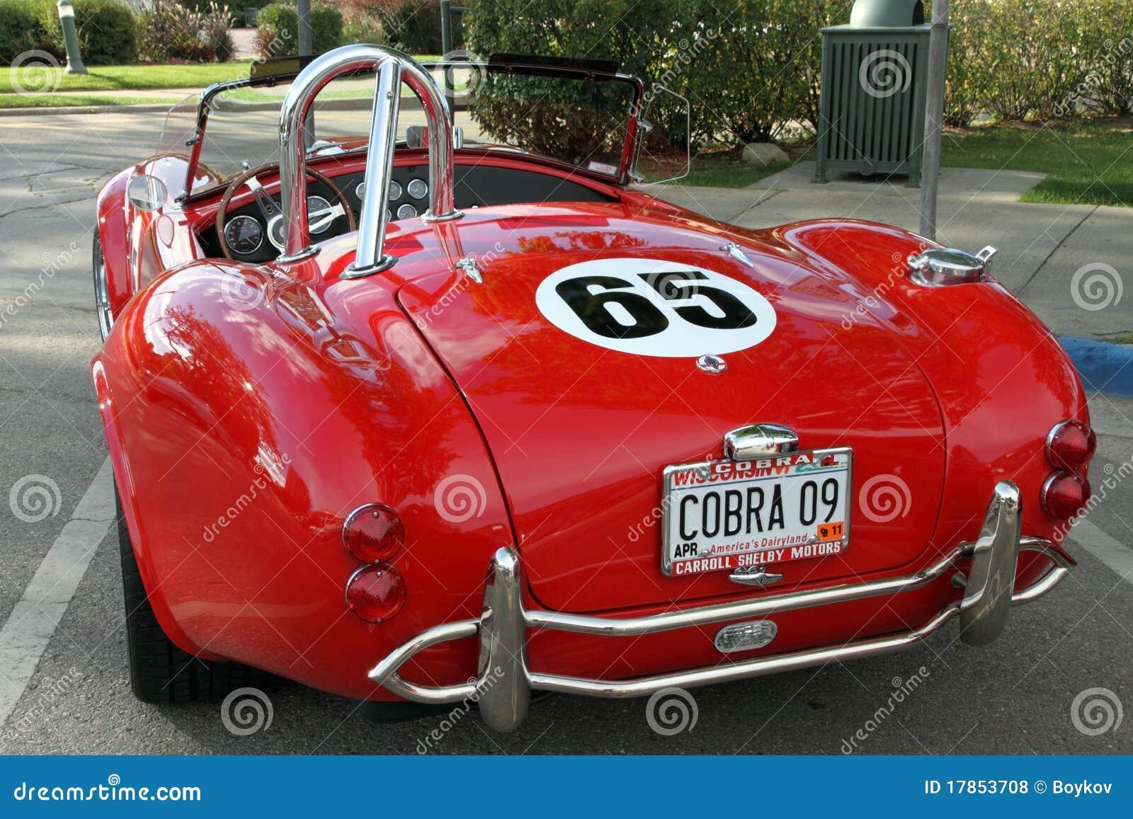 a retro sports car cobra editorial stock photo image of hood 17853708. Black Bedroom Furniture Sets. Home Design Ideas