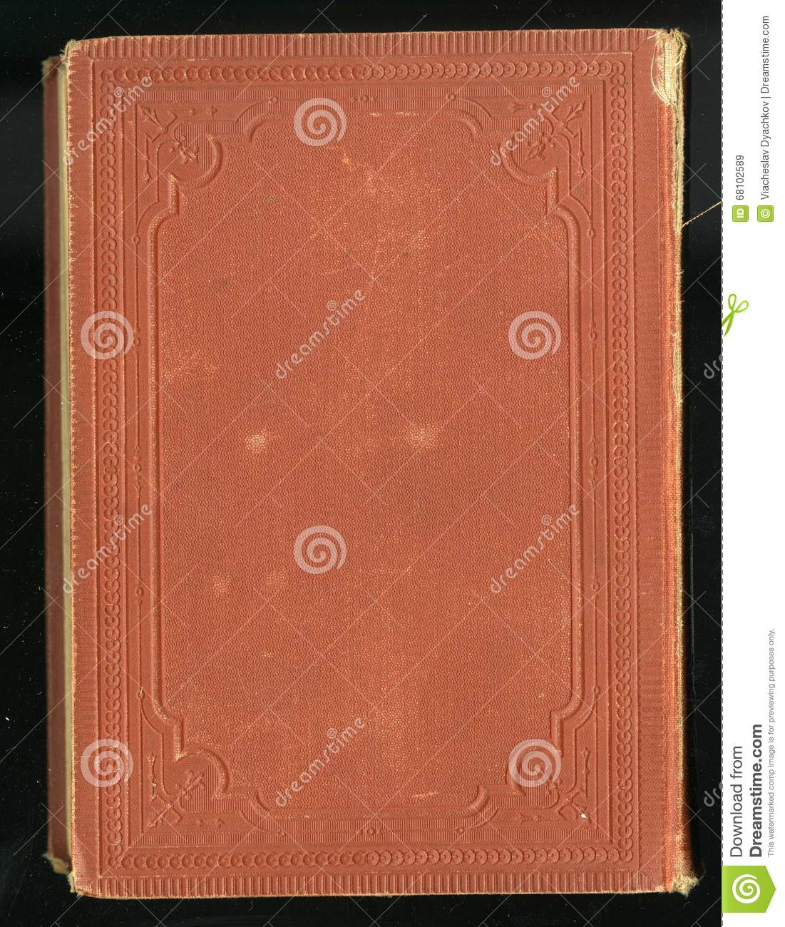 Vintage Style Book Cover : Retro style antique vintage diary journal book cover
