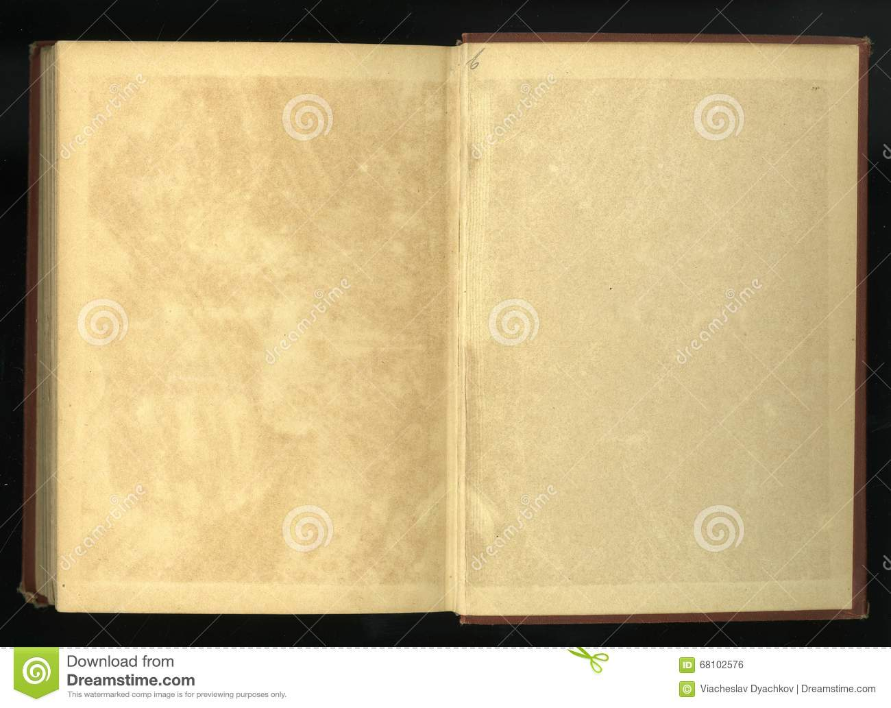 Download Retro Style. Frame Floral Ornament On The Pages Of Old Books. Stock Photo - Image of distressed, brown: 68102576