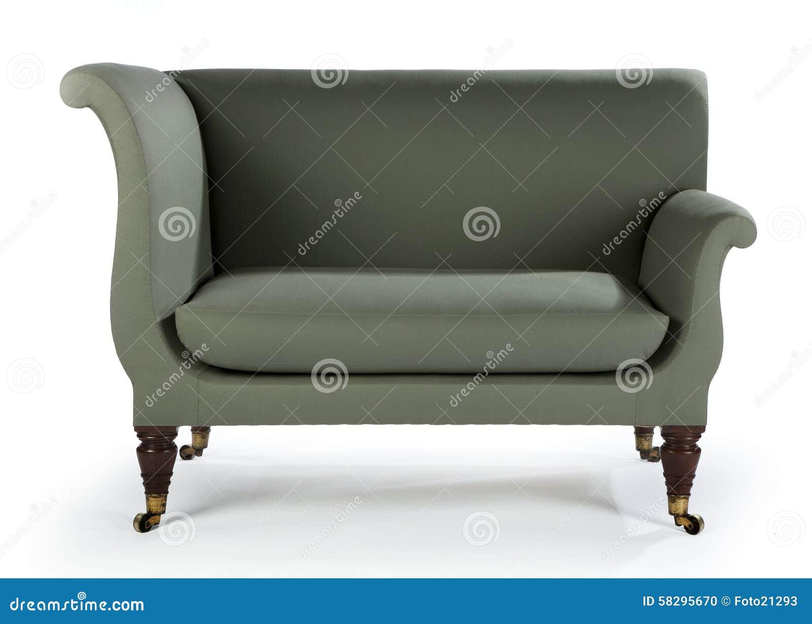 Retro Style Sofa Sixties Seventies Style Antique Stock Photo - Retro style sofa