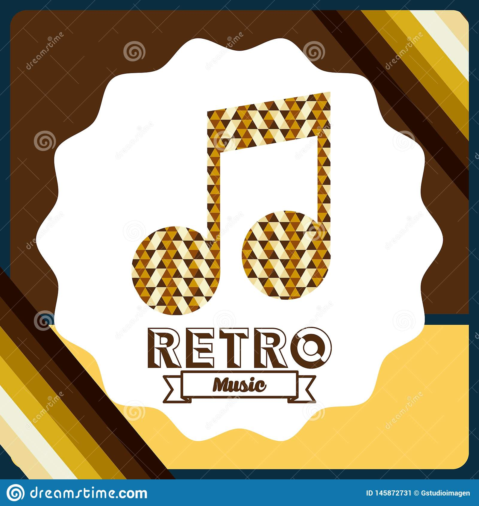 Retro style  Vector. Retro style design, vector illustration eps10 graphic stock image