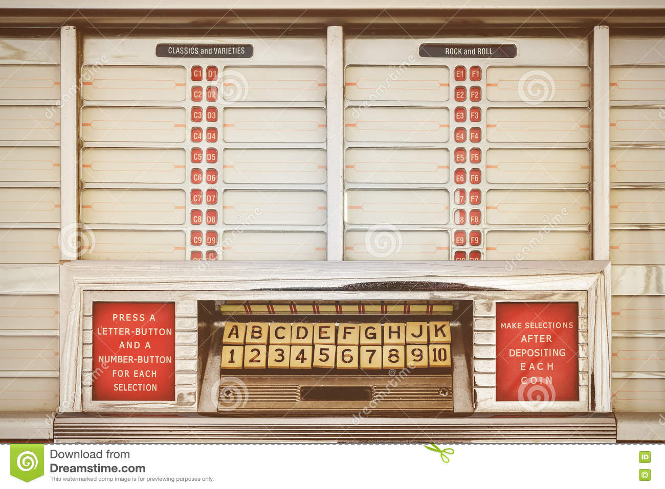 Retro jukebox stock images download 609 photos for Jukebox labels template