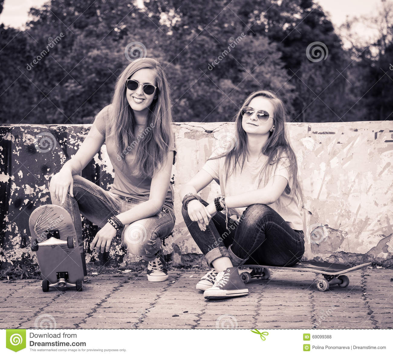 girls young teen Vintage retro
