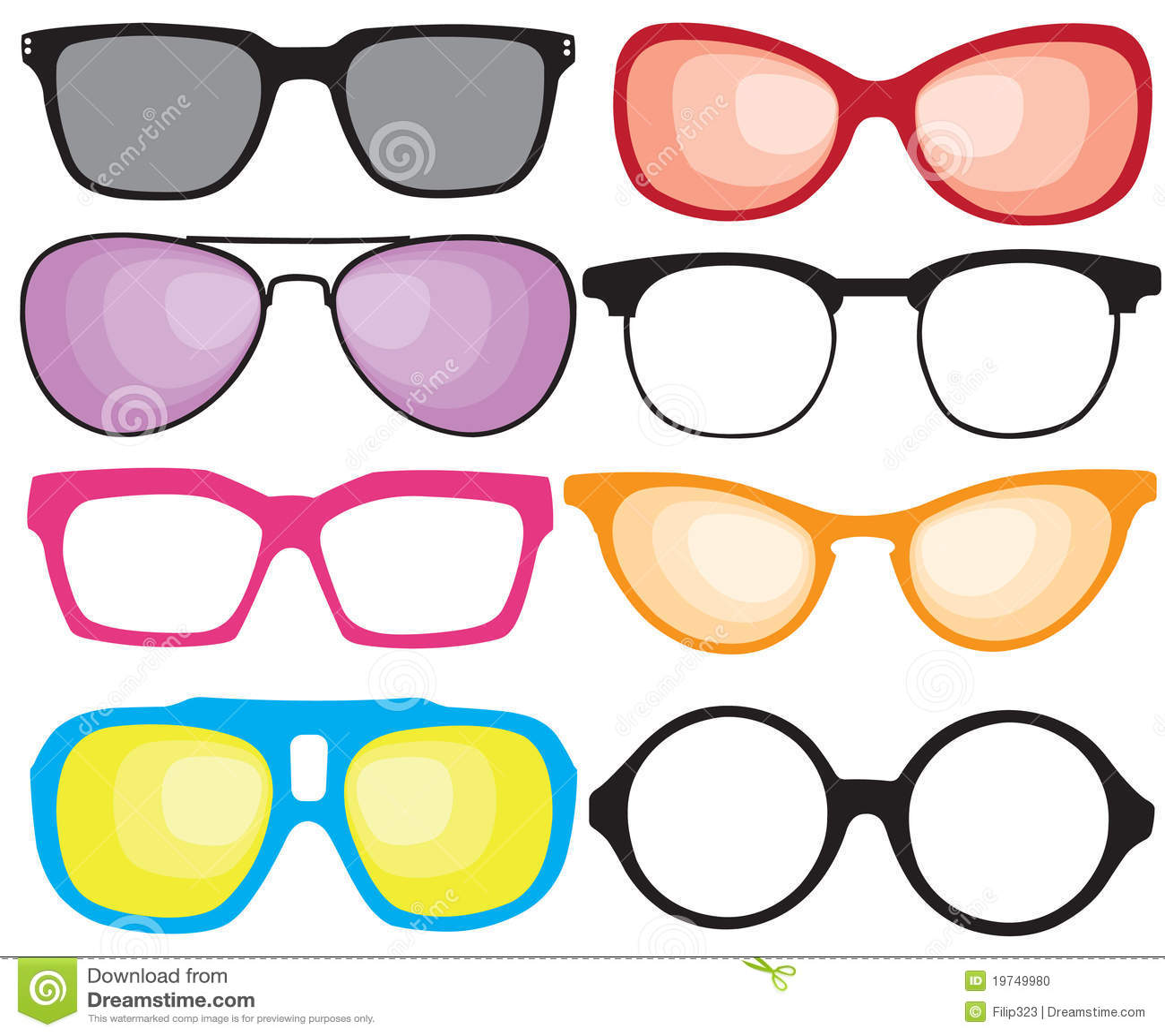 Retro sunglasses stock vector. Illustration of element ...