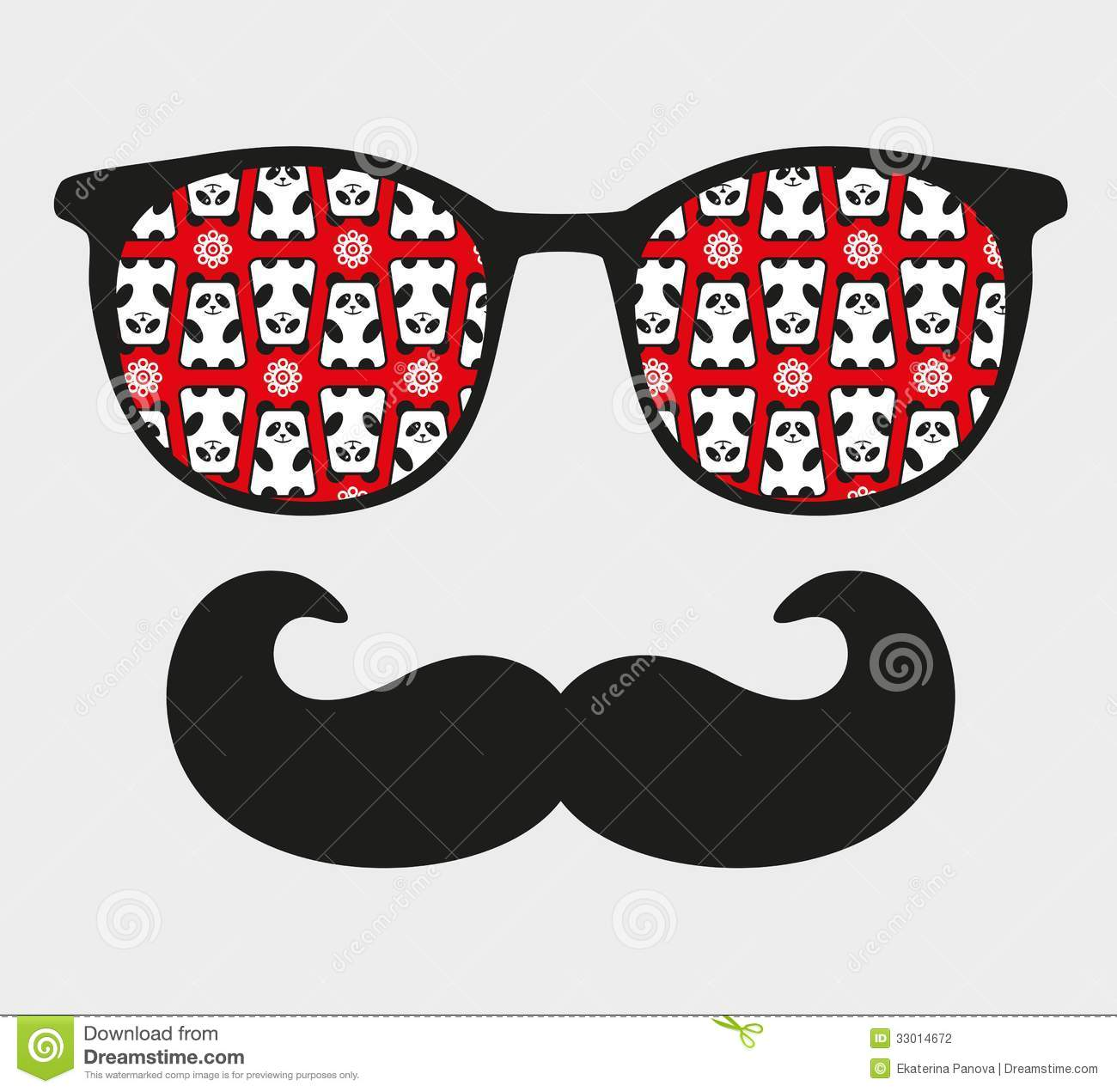 sunglasses-reflection-hipster-vector-illustration-accessory-eyeglasses ...
