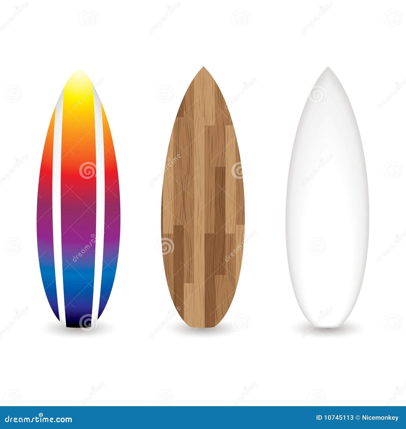 Retro surfplanken