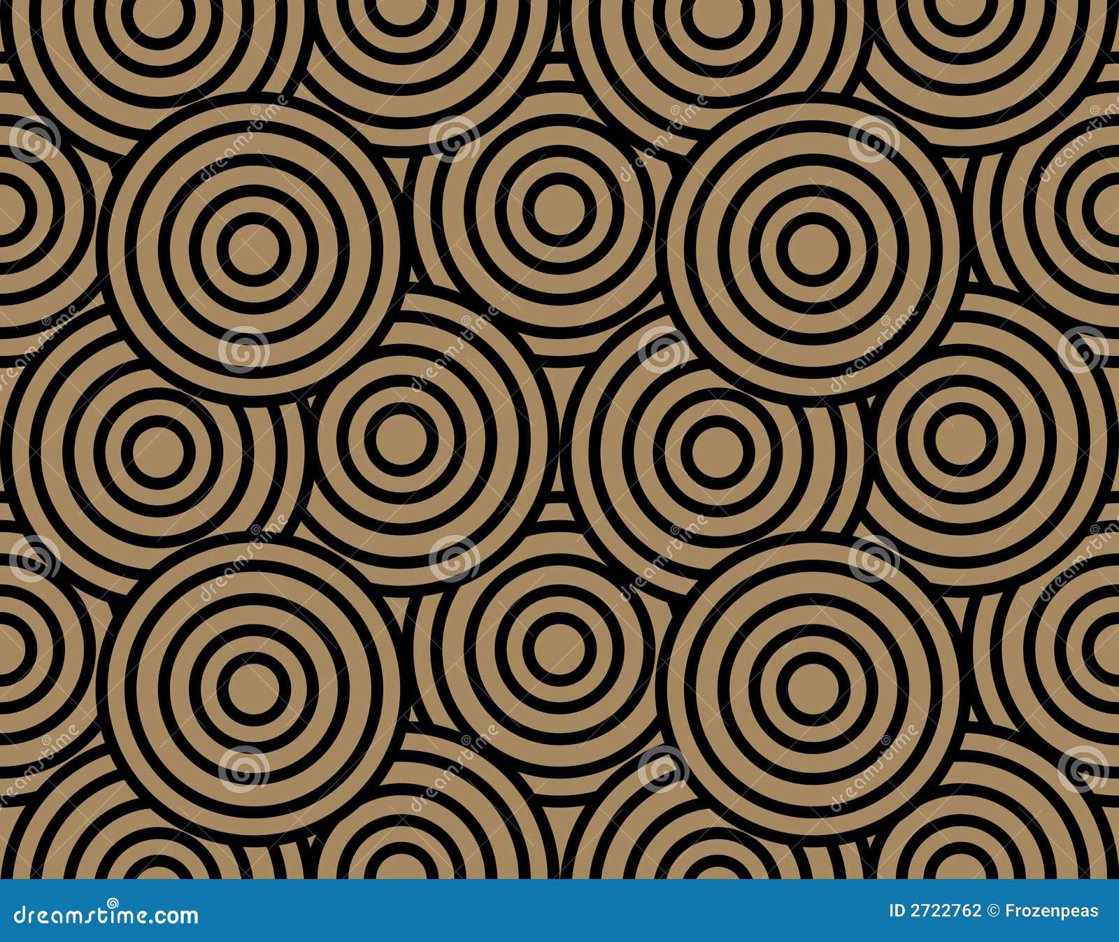 retro tapete stockfotografie bild 2722762. Black Bedroom Furniture Sets. Home Design Ideas
