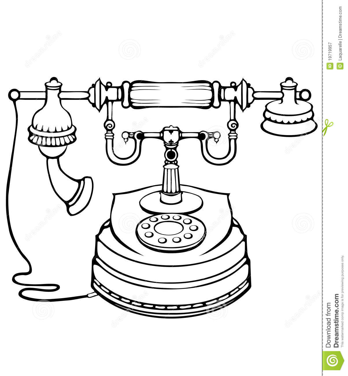 how to use an old telephone