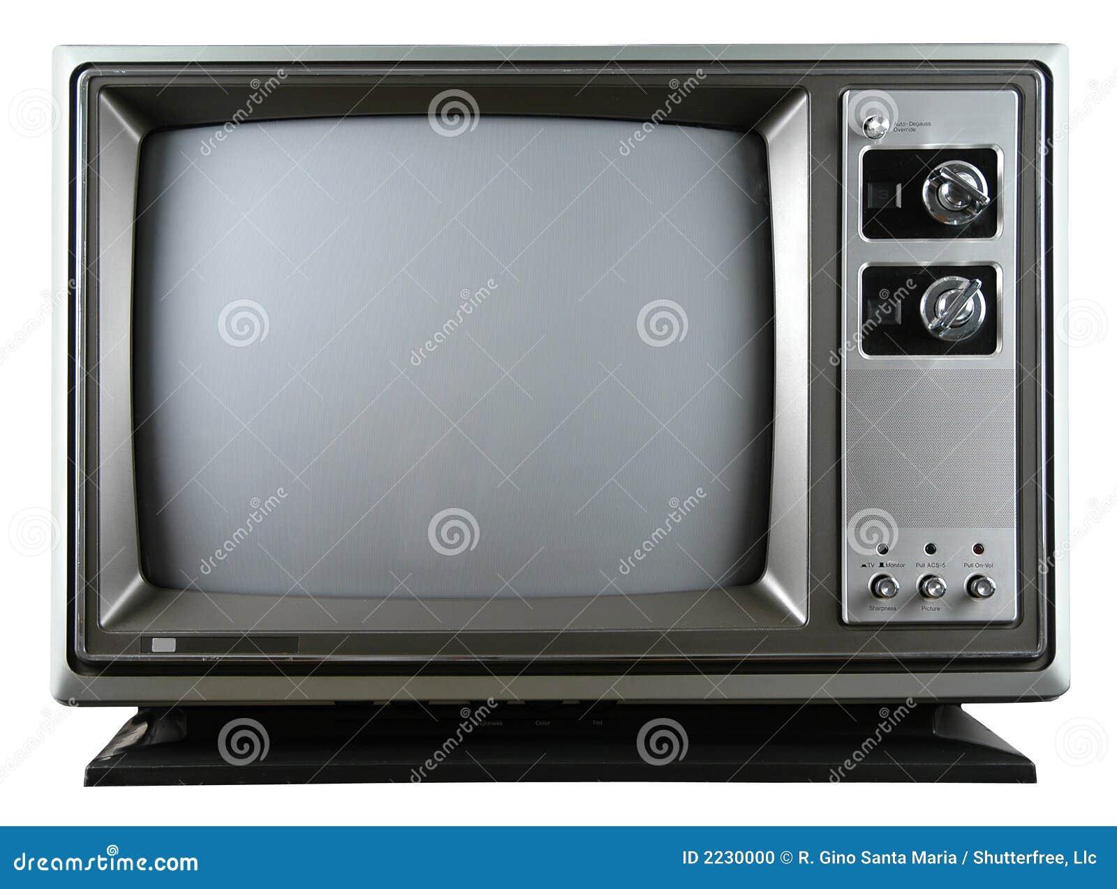 Retro Television Stock Photo Image Of Screen Electronics
