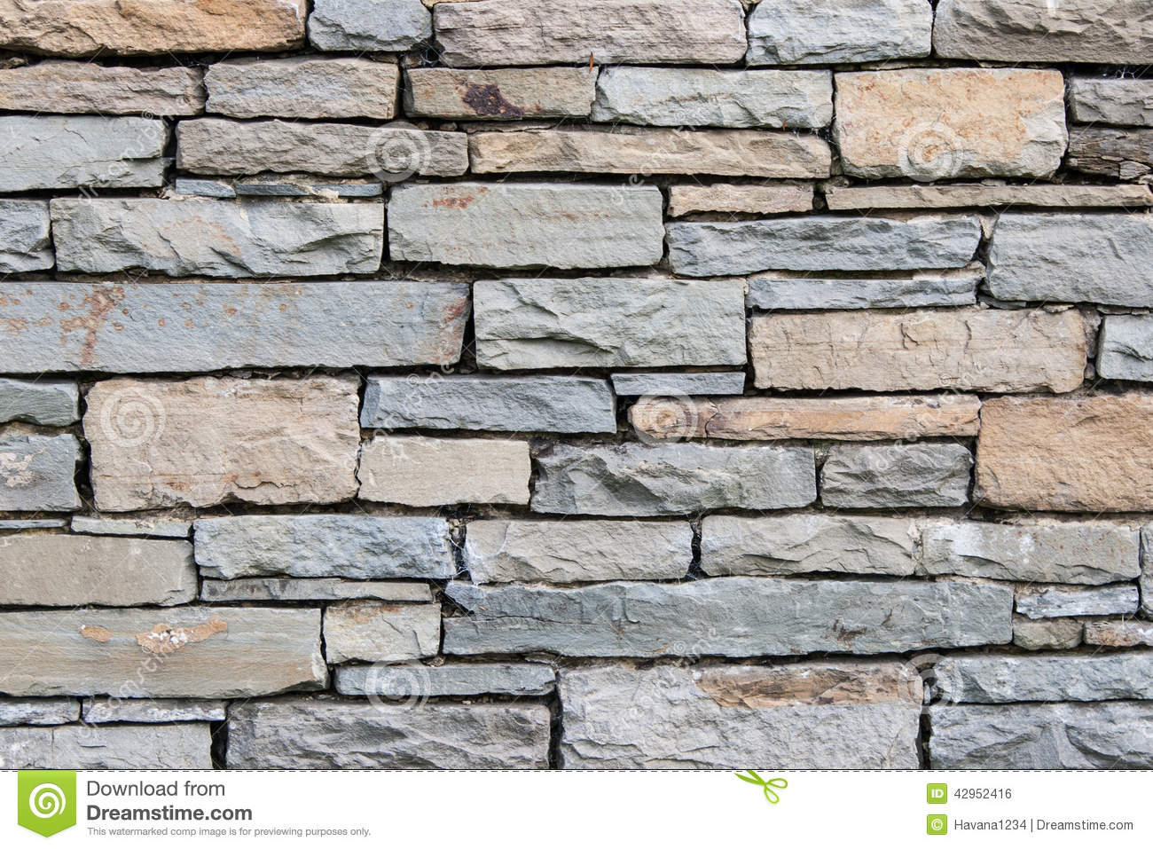 a retro texture stone wall pattern for background stock