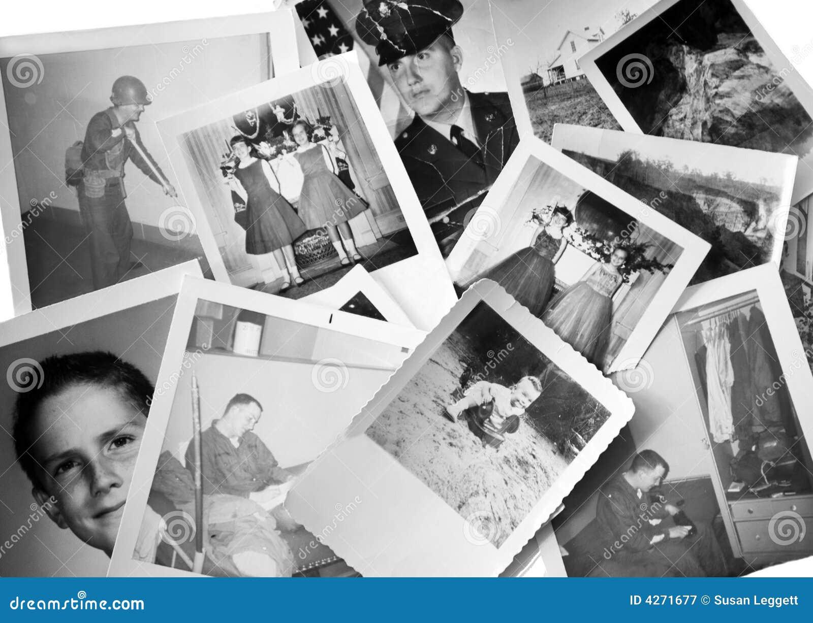 Retro/uitstekende foto s