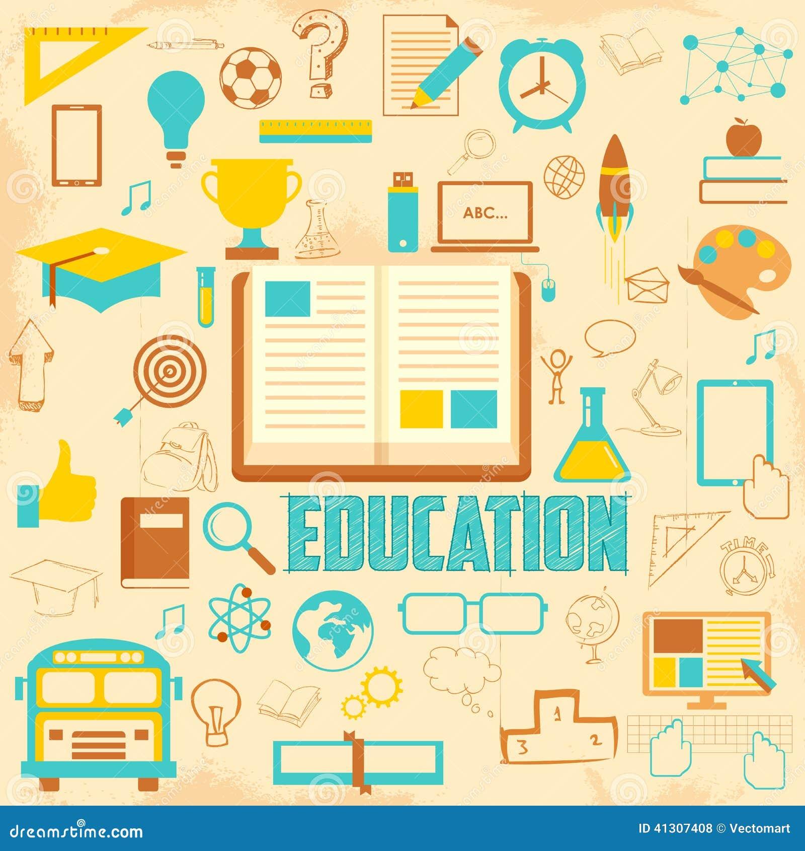 Retro utbildningsbakgrund
