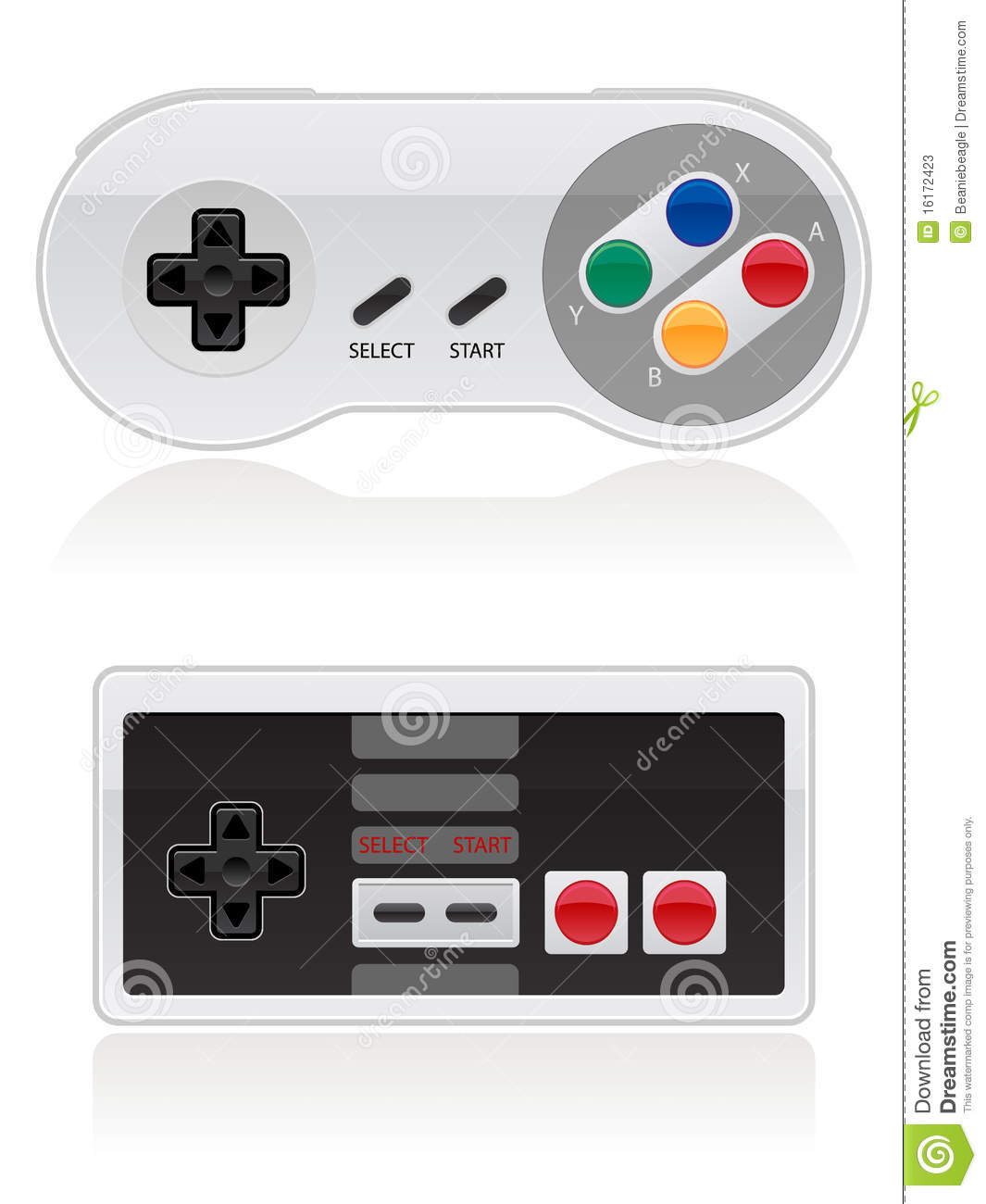 Space Invaders Wall Stickers Retro Video Game Controller Eps Stock Photos Image 16172423
