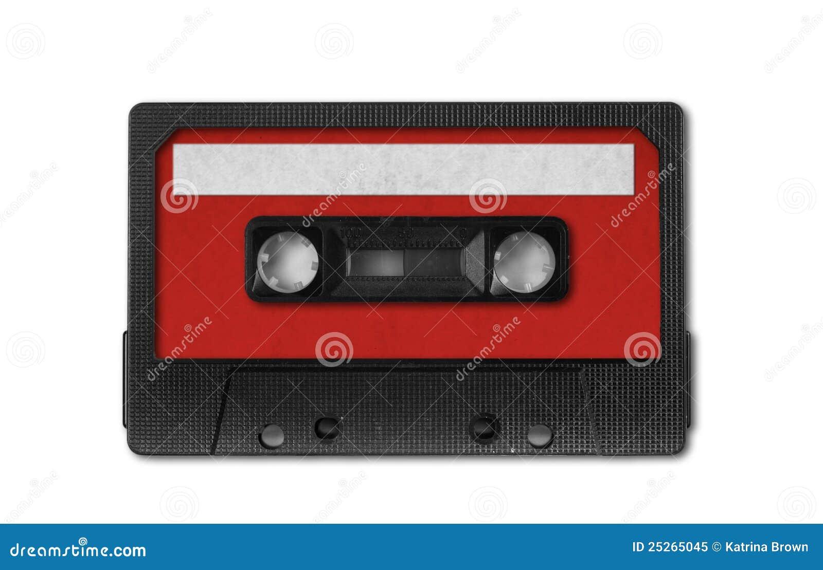 Retro Vintage Audio Cassette Tape