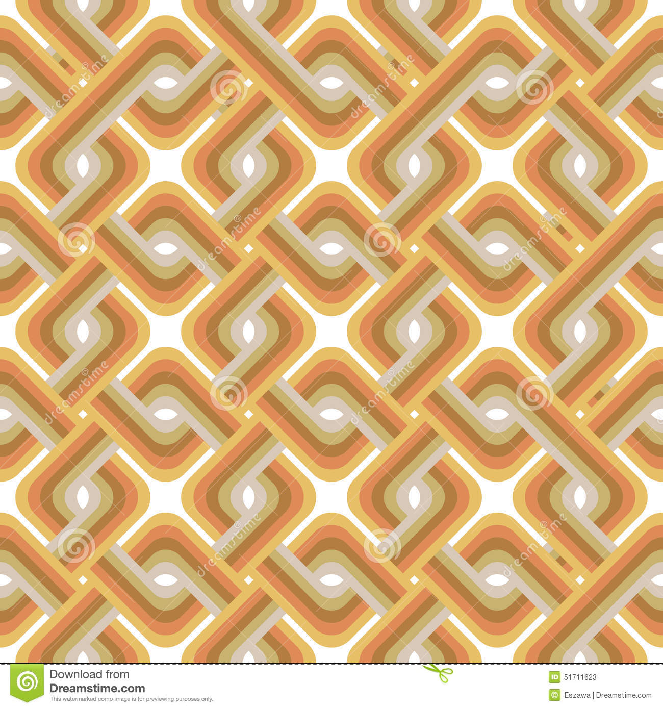 Retro wallpaper vintage vector pattern stock vector for Papel pintado vintage