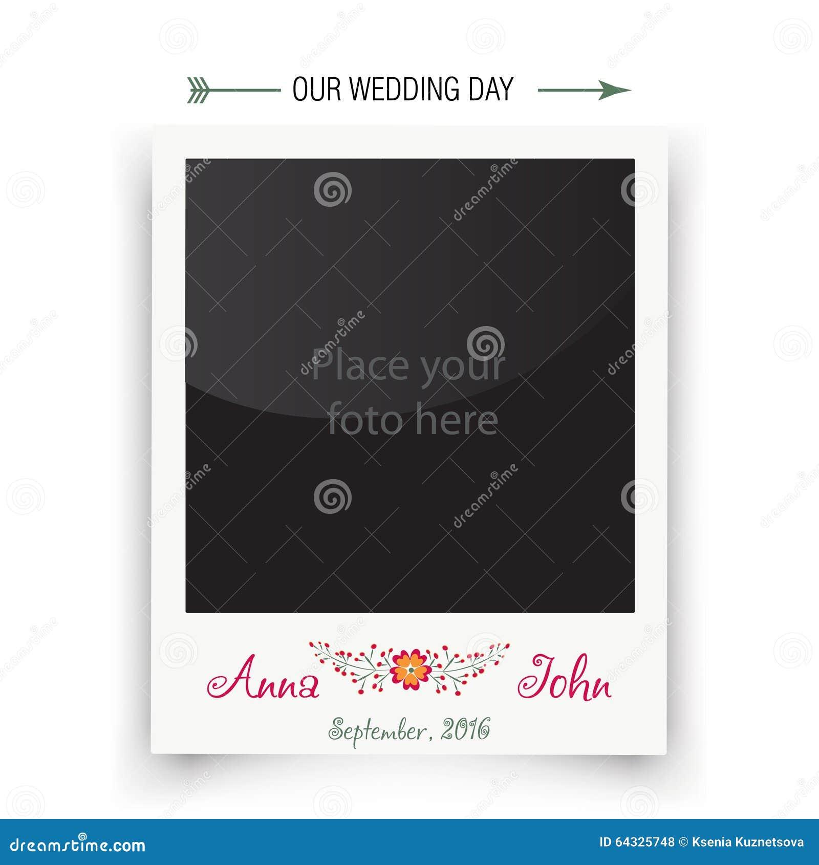 Polaroid Photo Template Royalty Free Photography Image – Polaroid Template