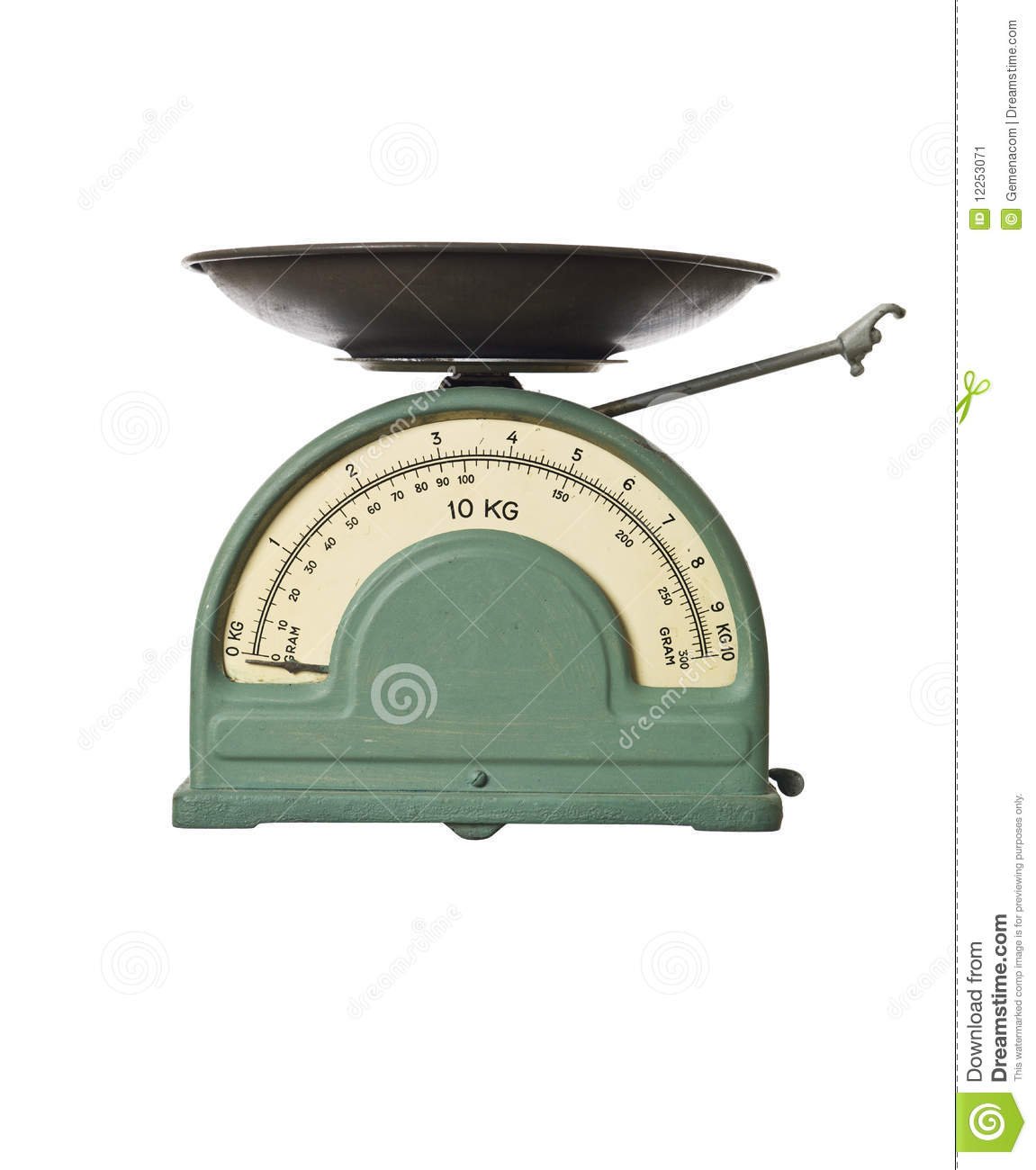 Old fashioned kitchen scale 77