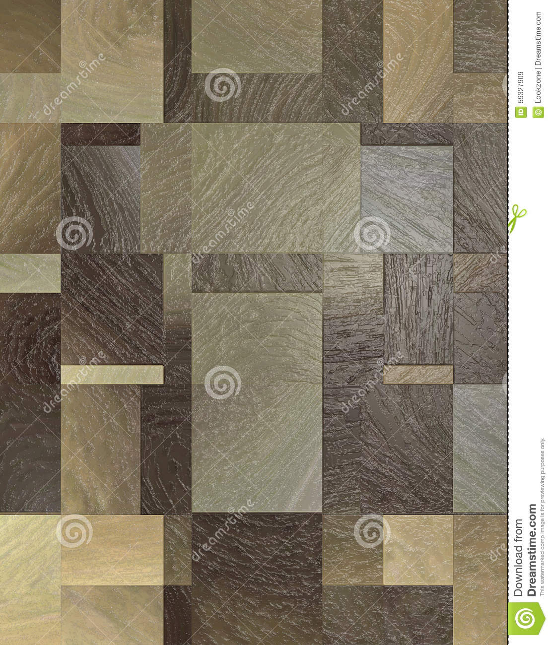 Retro Wood Tile Flooring Stock Photo Image 59327909