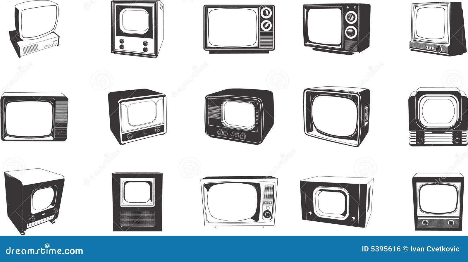 Retro zestawów tv