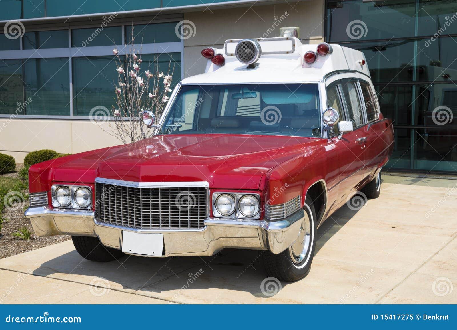 Retro ziekenwagen