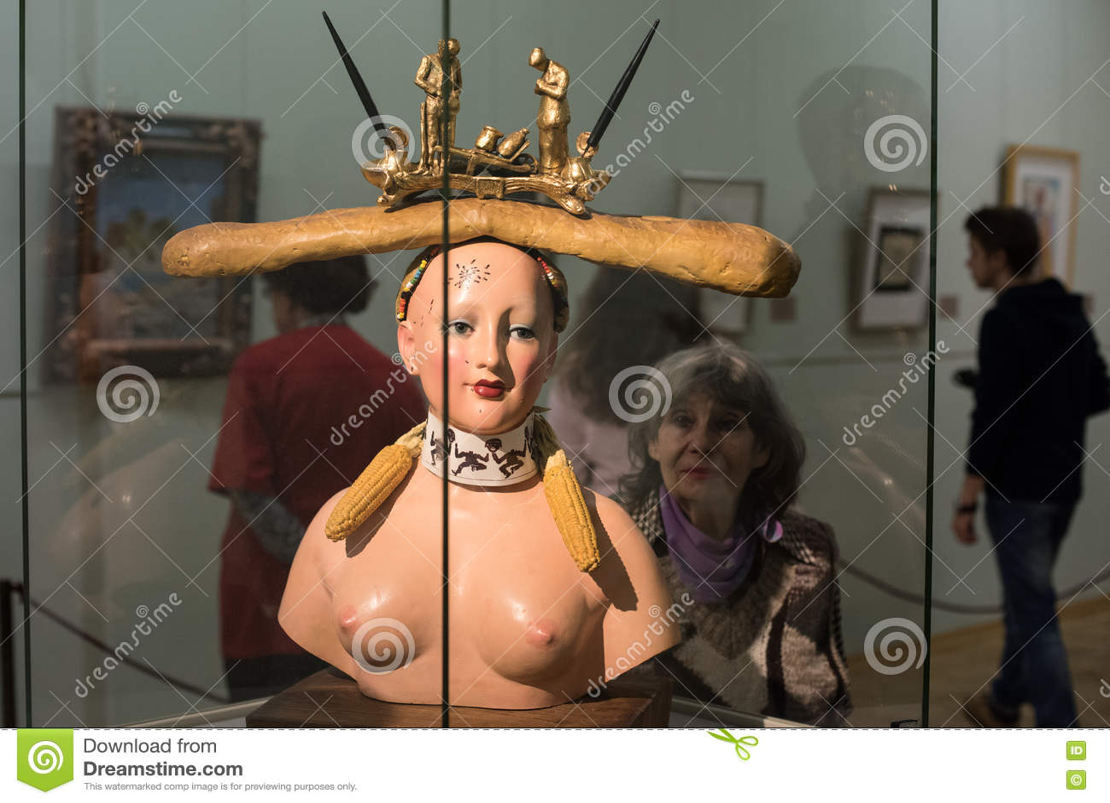 Retrospective Female Bust