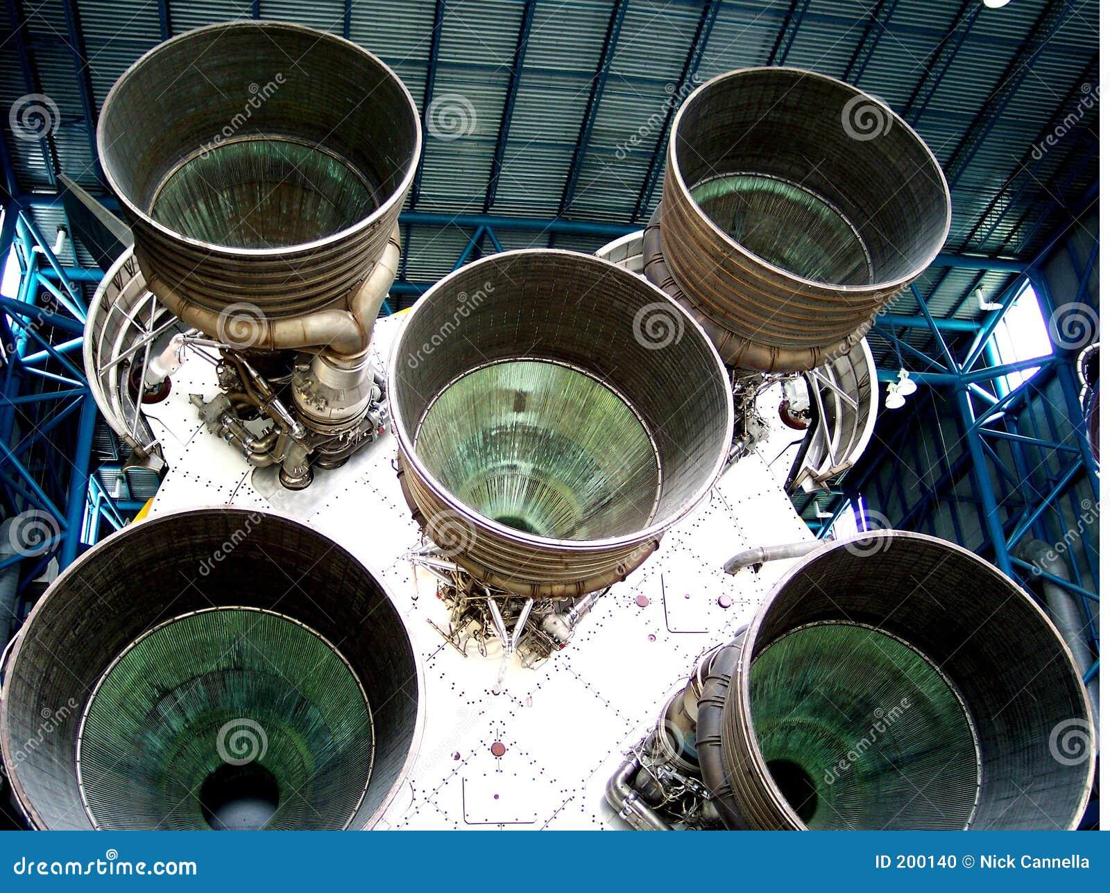 Retrovisione della nave spaziale