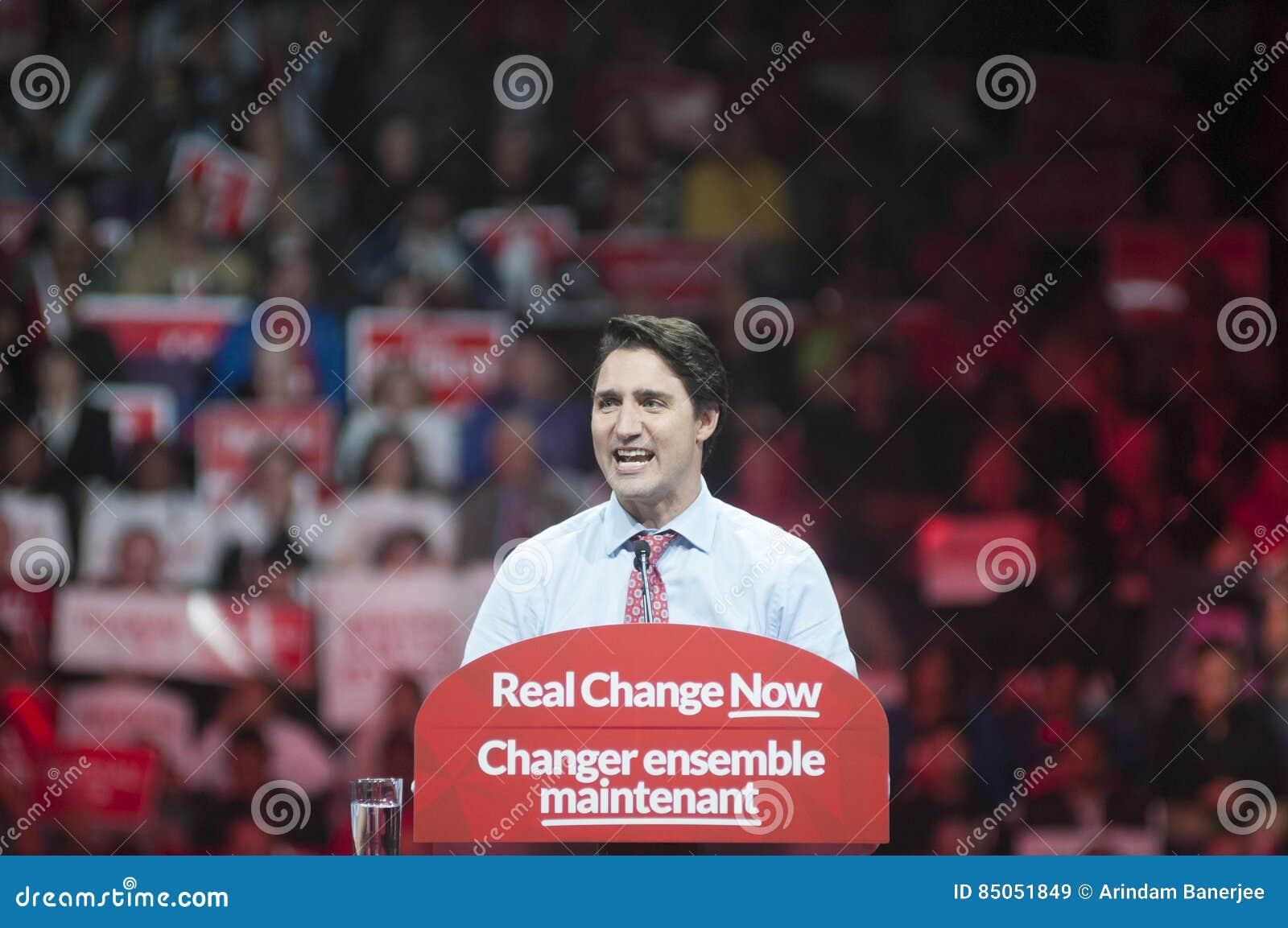 Reunião da eleição de Justin Trudeau