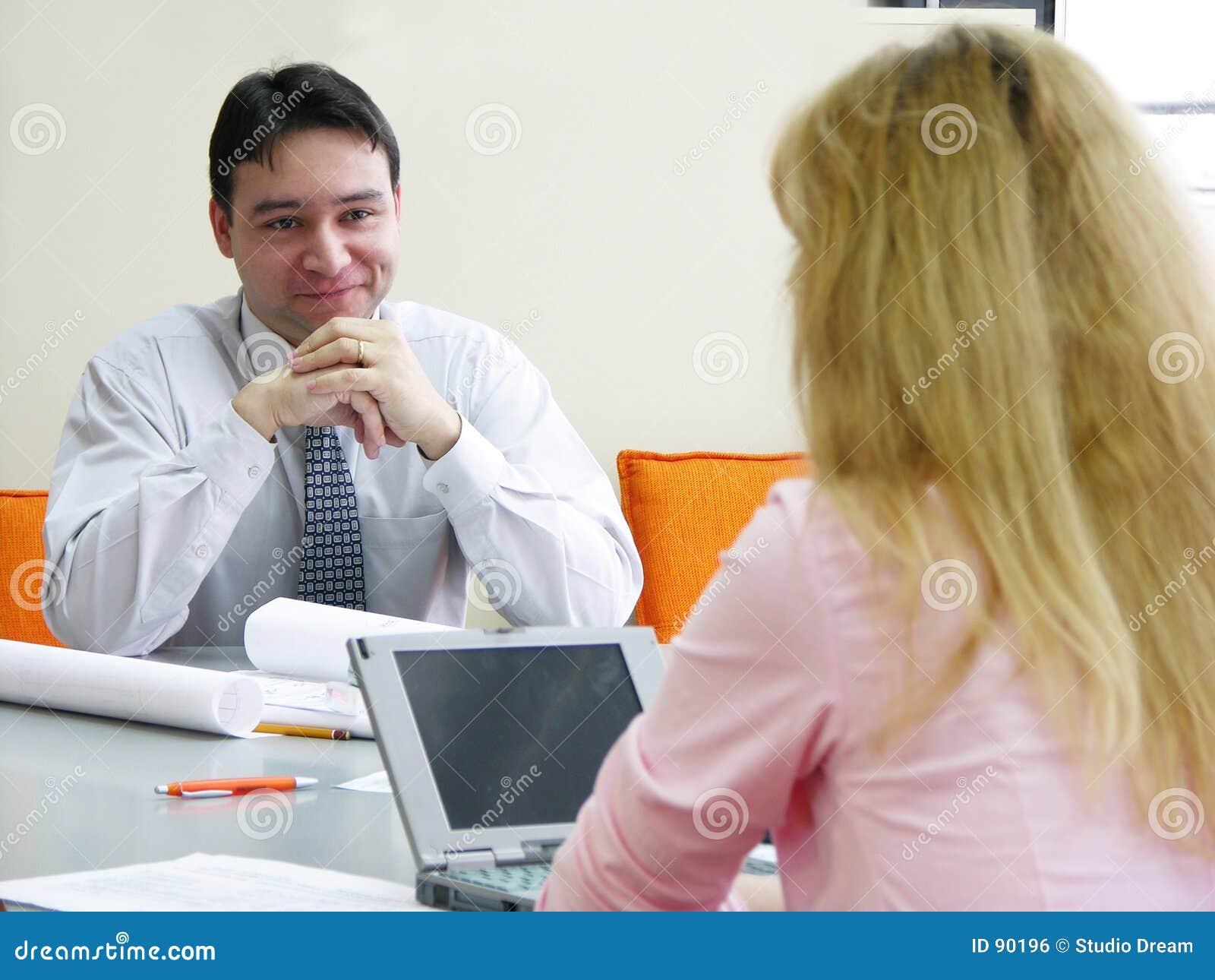 Reunião do escritório