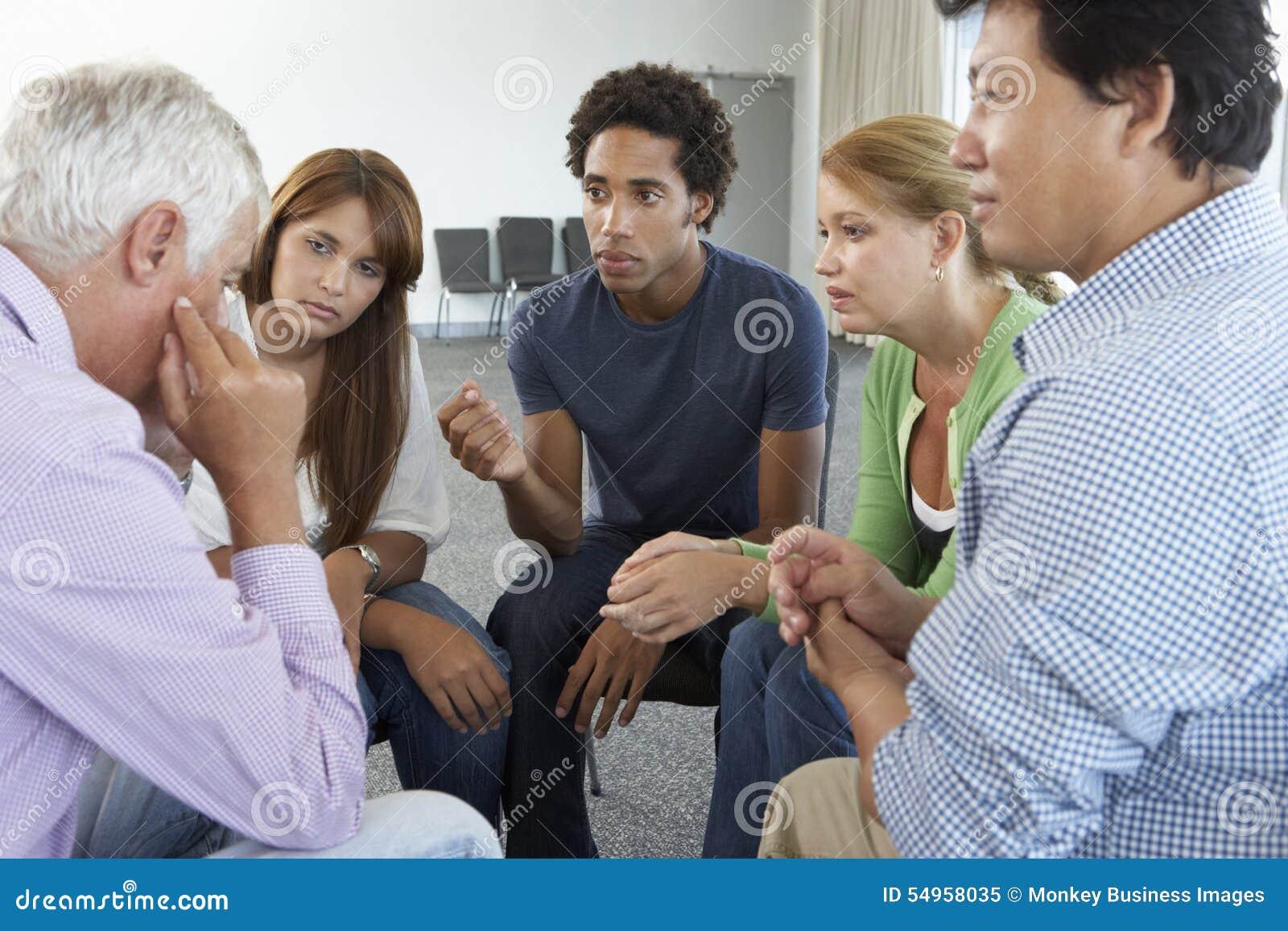 Reunião do grupo de apoio