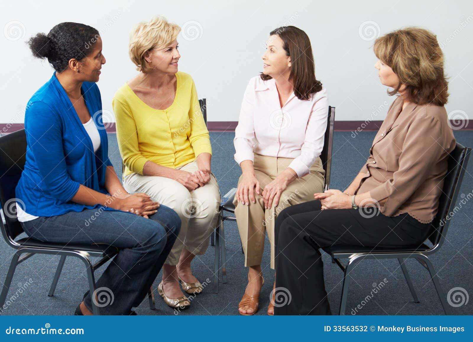 Reunião do grupo de apoio das mulheres