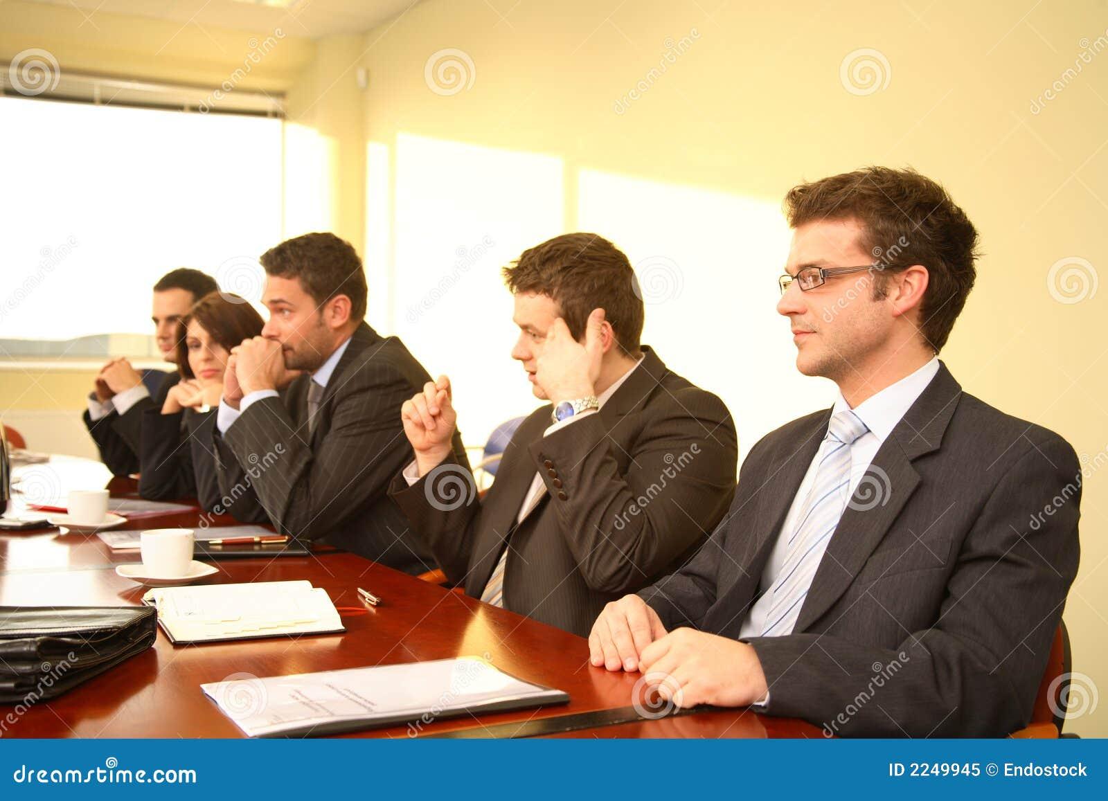 Reunión de reflexión de la sala de reunión