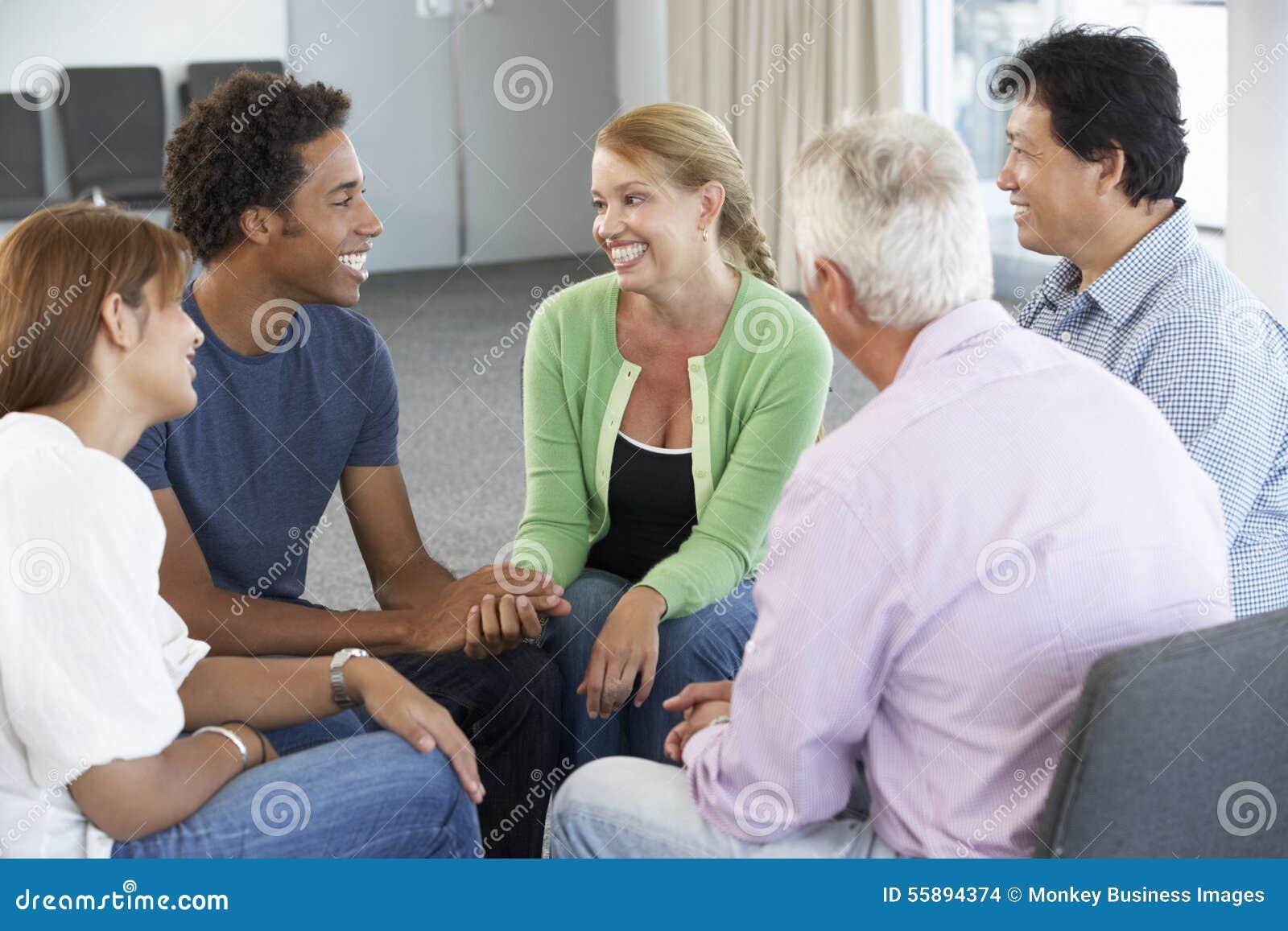Reunión del grupo de ayuda