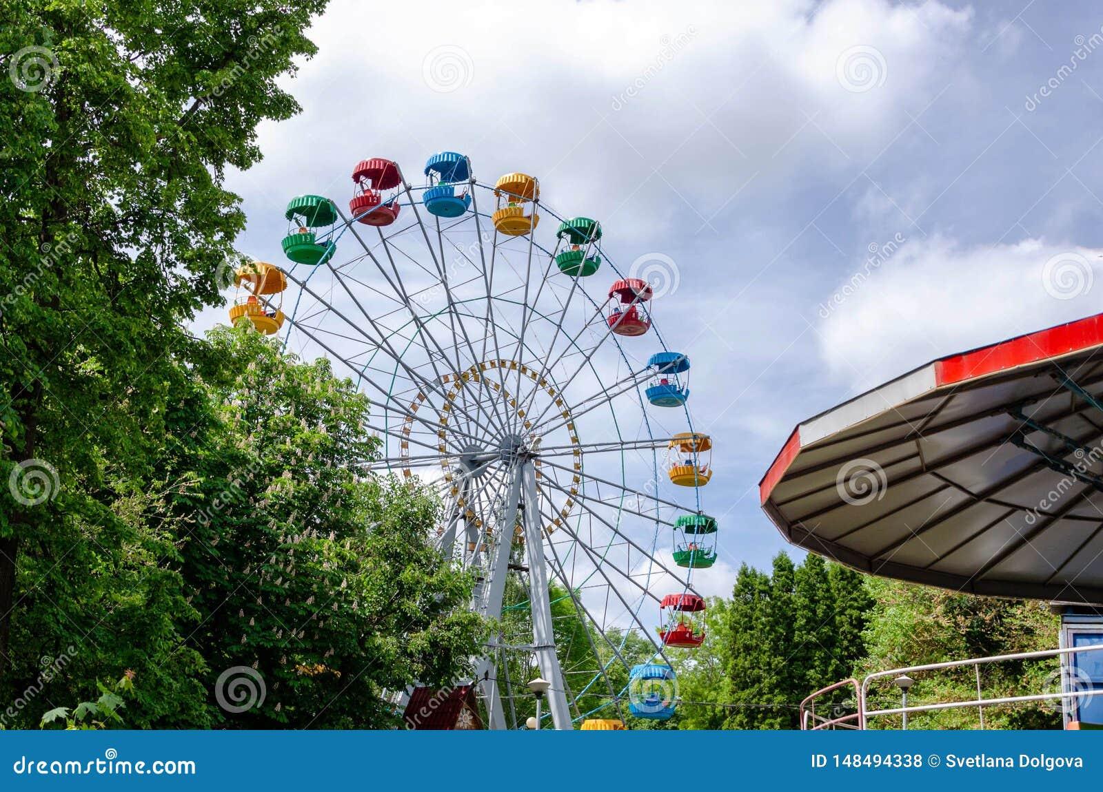 Reuzenrad op het stadspark