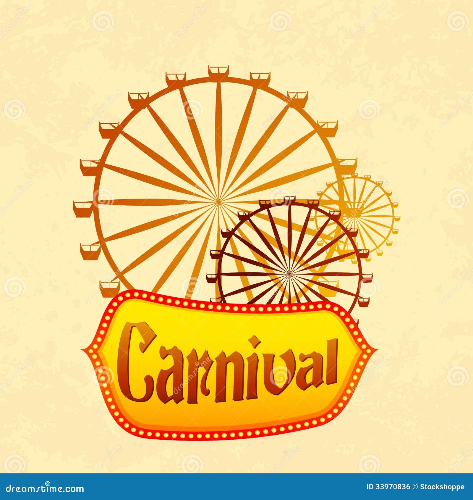 Reuzewiel in Carnaval